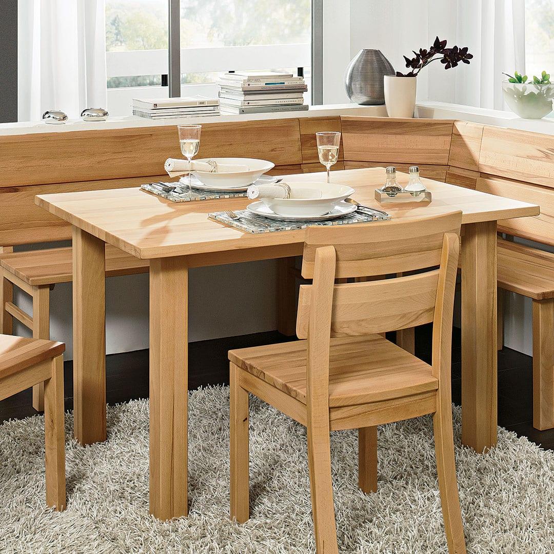 """Tisch """"Comera"""" - 80x120 cm - Wildeiche von allnatura"""