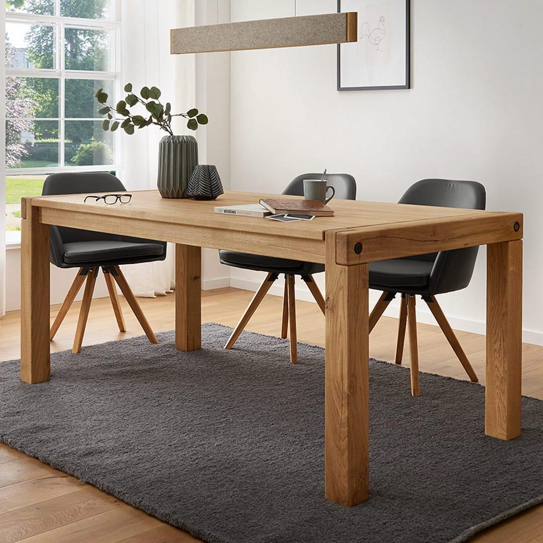 """Tisch """"Robero"""" - 90x180 cm von allnatura"""