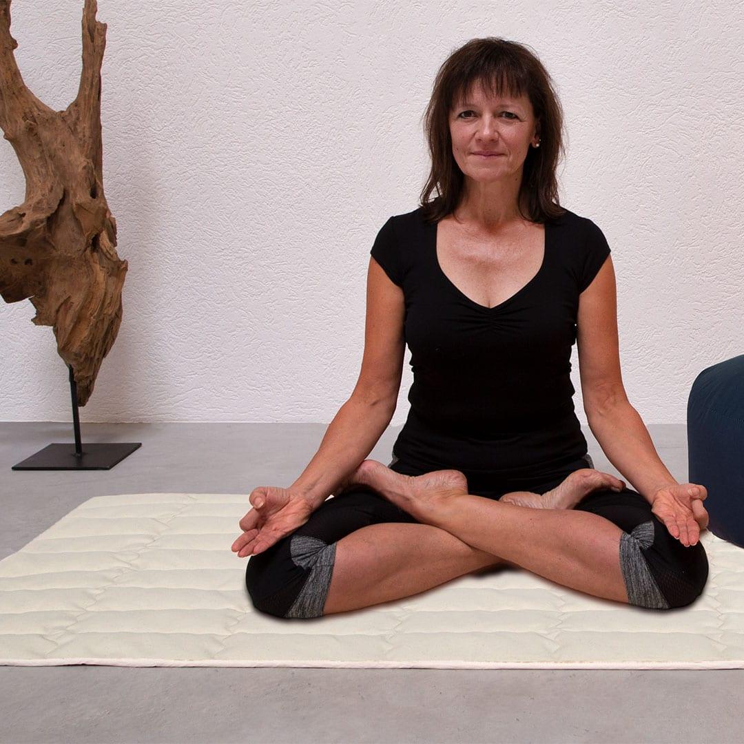 """Yogamatte """"Lyovita"""" - 90x200 cm - rot von allnatura"""