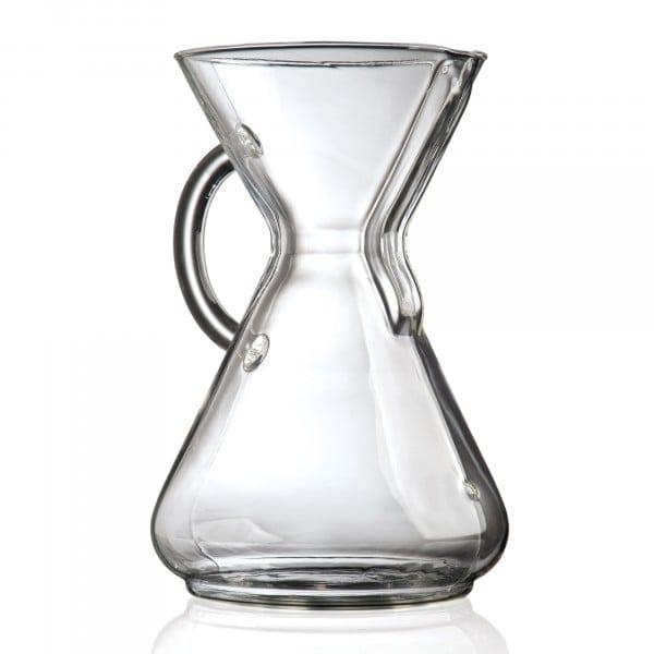 '-Kaffeekaraffe - mit Glasgriff für bis zu 10 Tassen von Chemex