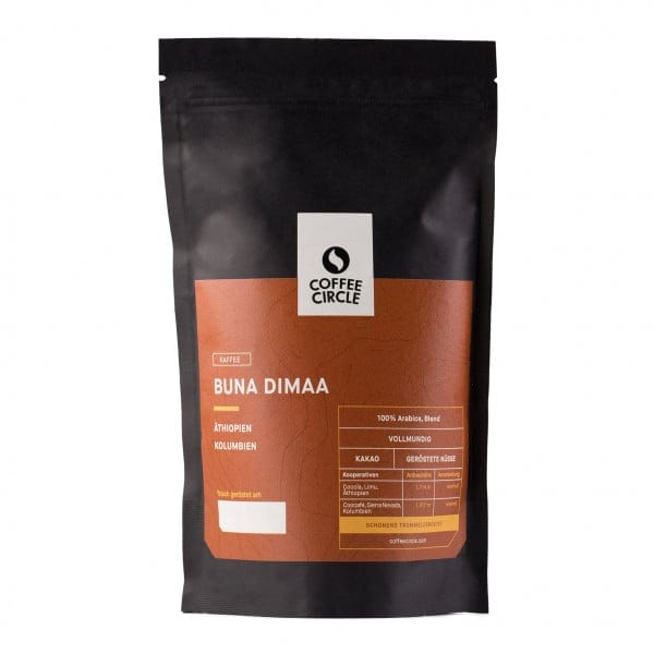 Buna Dimaa Kaffee 350g ganze Bohne von Coffee Circle