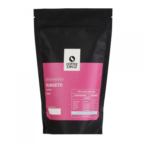 Rungeto Kaffee 350g ganze Bohne von Coffee Circle