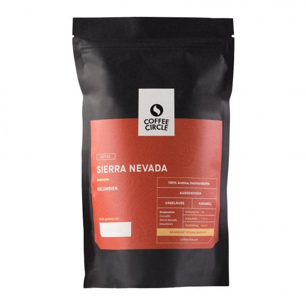 Sierra Nevada Kaffee 350g ganze Bohne von Coffee Circle