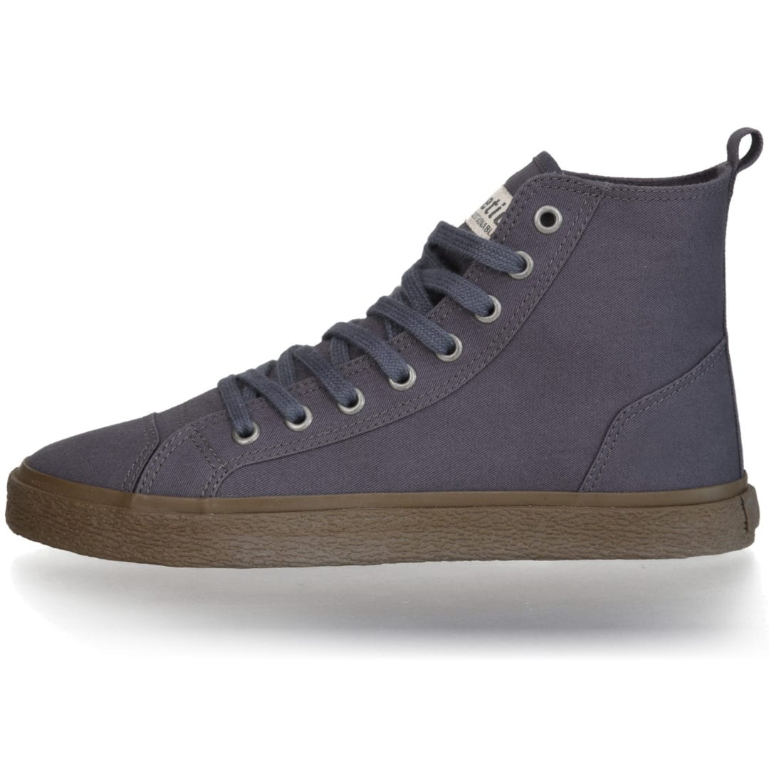 Fair Sneaker Goto HI Pewter Grey von Ethletic