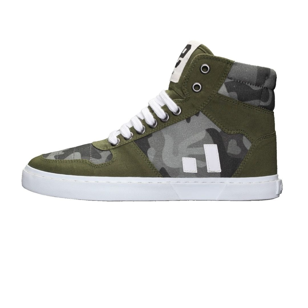 Fair Sneaker Hiro II Human Rights Olive von Ethletic