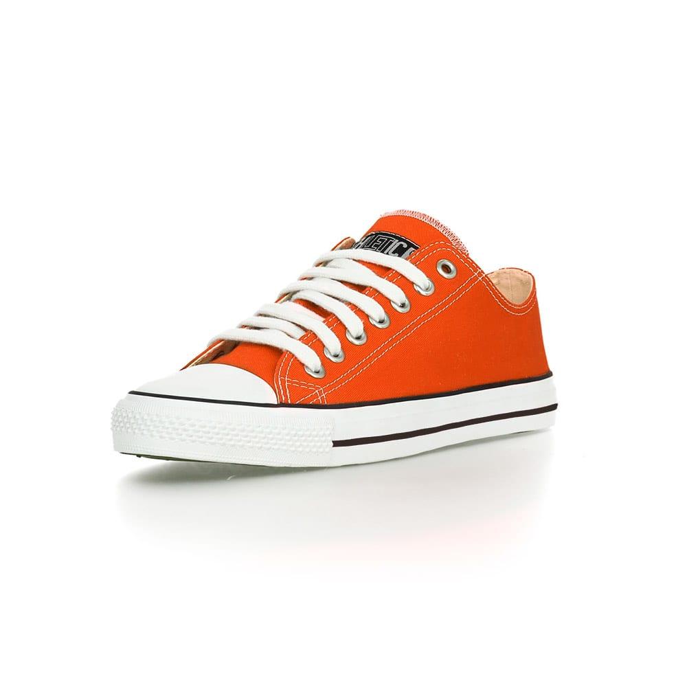 Fair Trainer White Cap Lo Cut Edition Mandarin Orange Just White von Ethletic