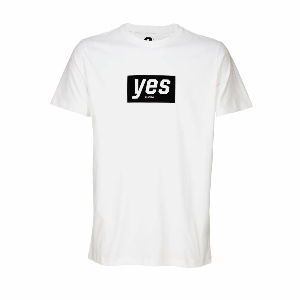 YES  (Mens_T) Just White von Ethletic