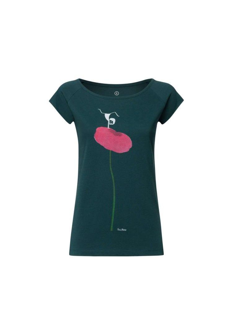 T-Shirt Balance Girl  von FellHerz