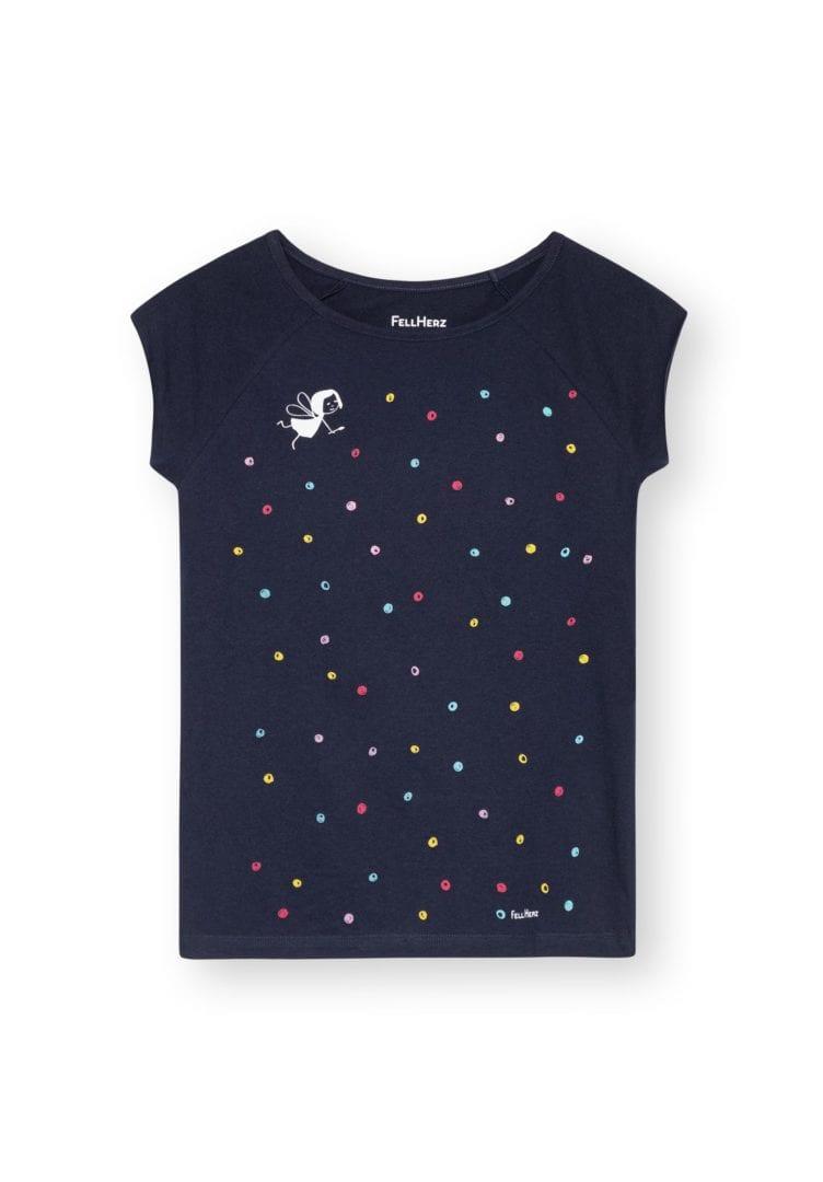 T-Shirt Konfettimädchen  von FellHerz