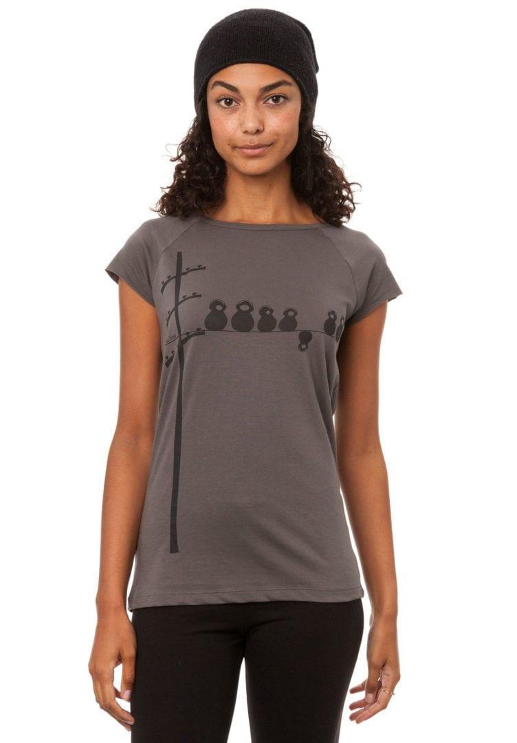 T-Shirt Make Some Noise Grau  von FellHerz