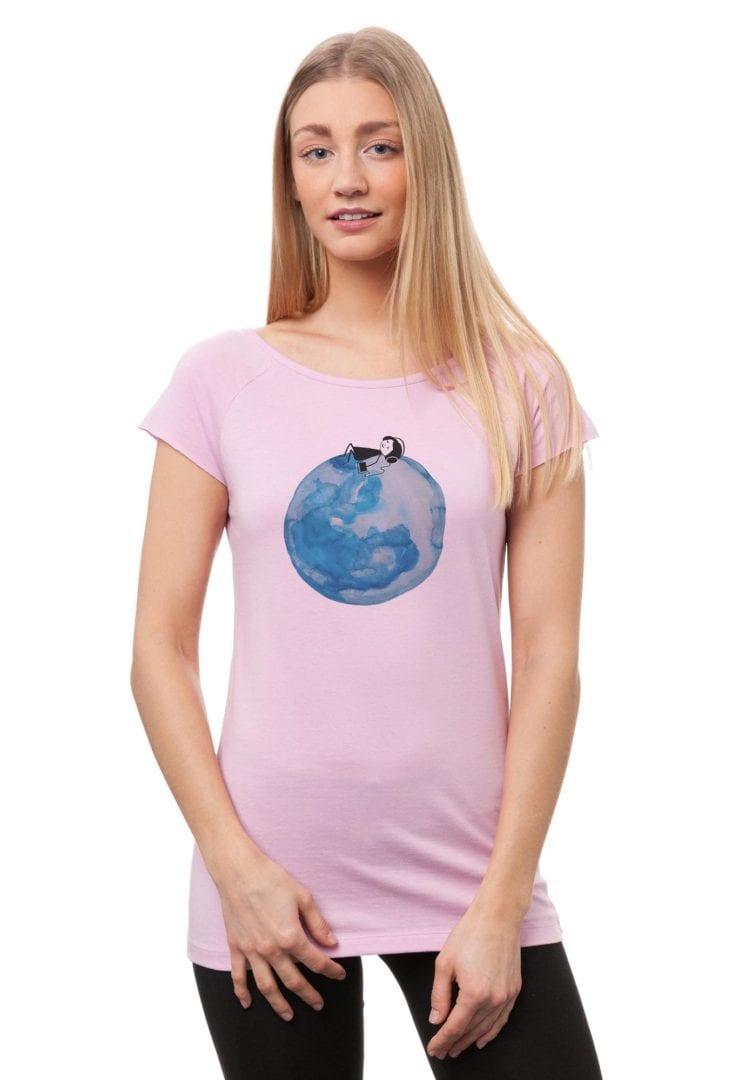 T-Shirt Moon Girl  von FellHerz