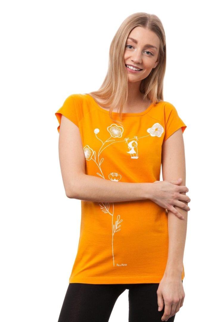 T-Shirt Schaukelmädchen  von FellHerz