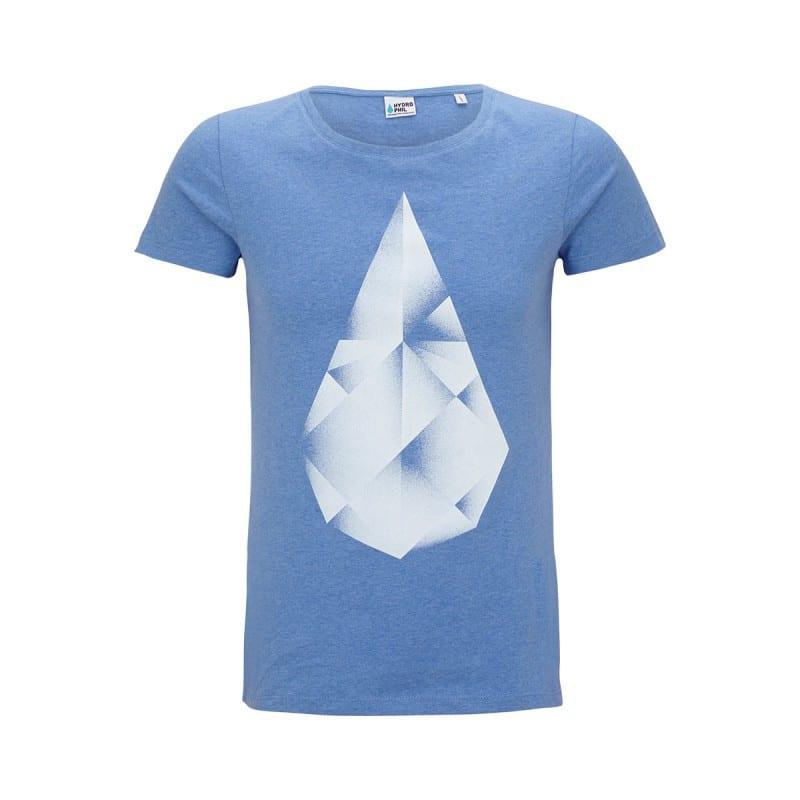 Shirt Frauen – blau von Hydrophil