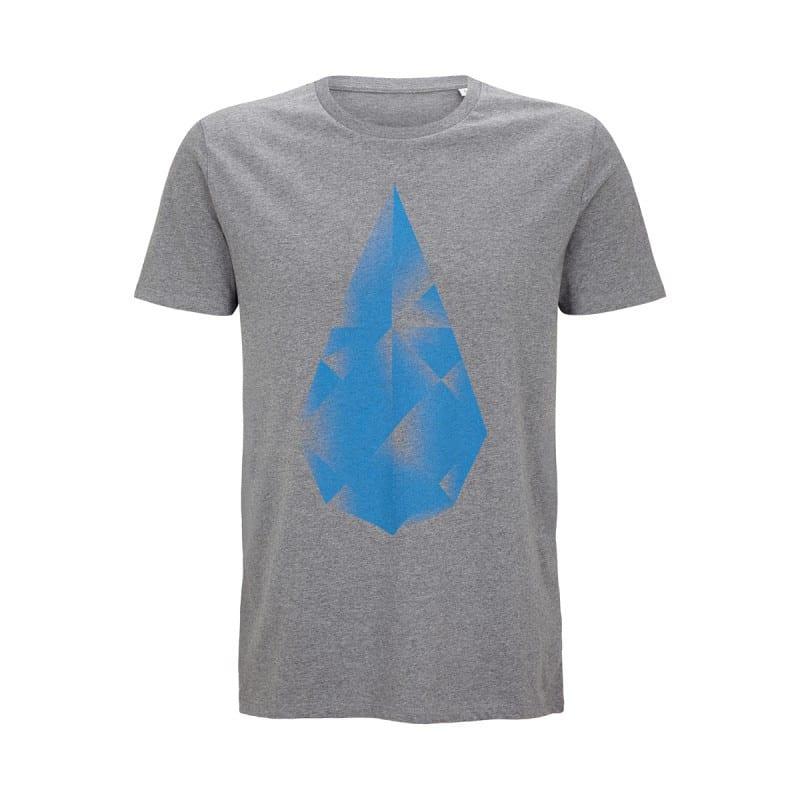 Shirt Männer – grau von Hydrophil