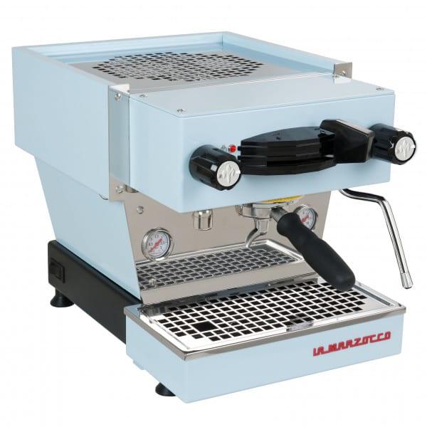Linea Mini Espressomaschine blau von La Marzocco