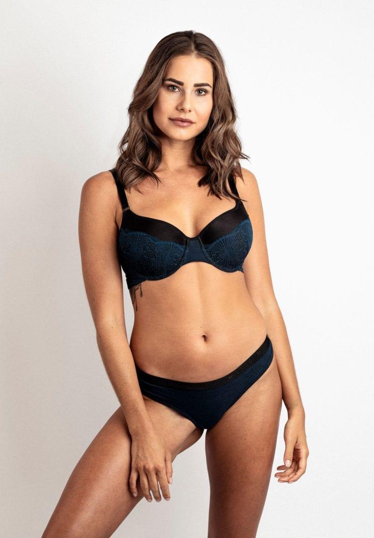 Damen Bikini-Slip WHORLFLOWER Dunkelblau von LovJoi