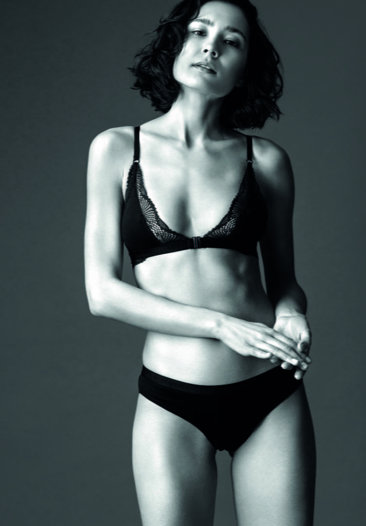 Damen Bikini-Slip WHORLFLOWER schwarz von LovJoi