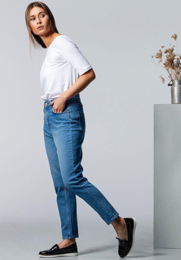 Damen Jeans CARPINE Mom's Blue Denim von LovJoi