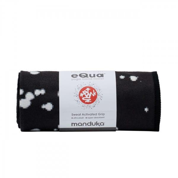 eQua Mattentuch Mini Dot Black von Manduka