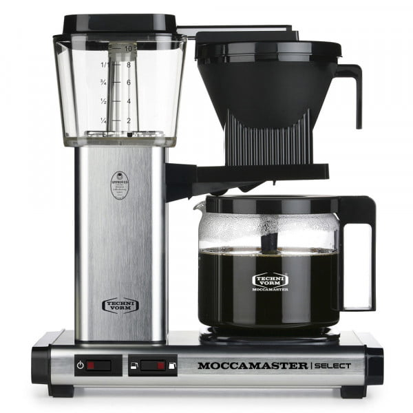KBG Select Filterkaffeemaschine alu gebürstet von Moccamaster