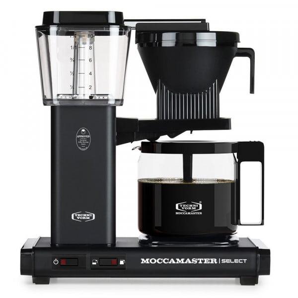 KBG Select Filterkaffeemaschine matt-schwarz von Moccamaster