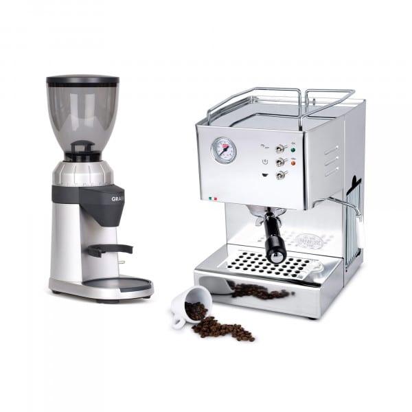 Orione + Espressomühle im Set Graef CM 800 von QuickMill