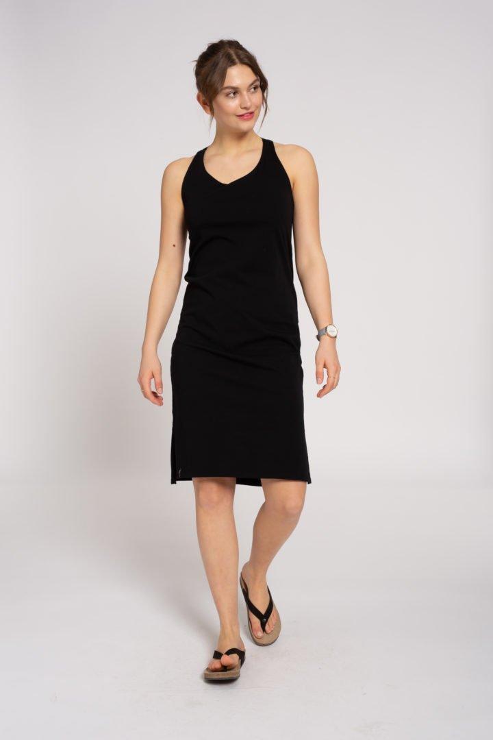 Sleeveless Jerseydress Black von Recolution
