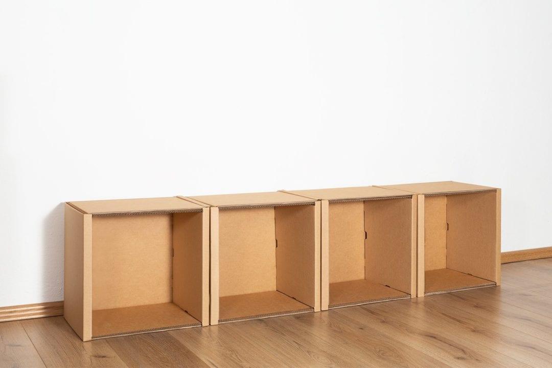 Regal 1x4 - keine / keine von Room in a Box