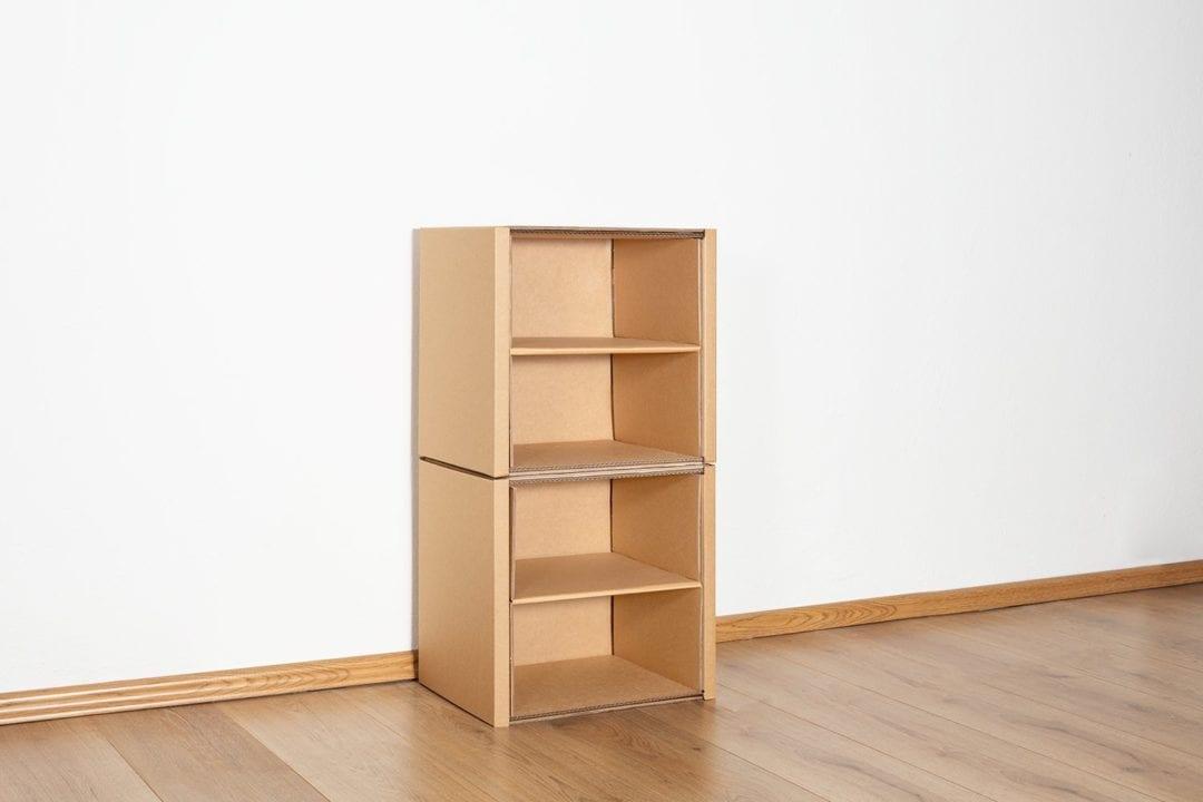 Regal 2x1 - 2 Regalböden / natur von Room in a Box