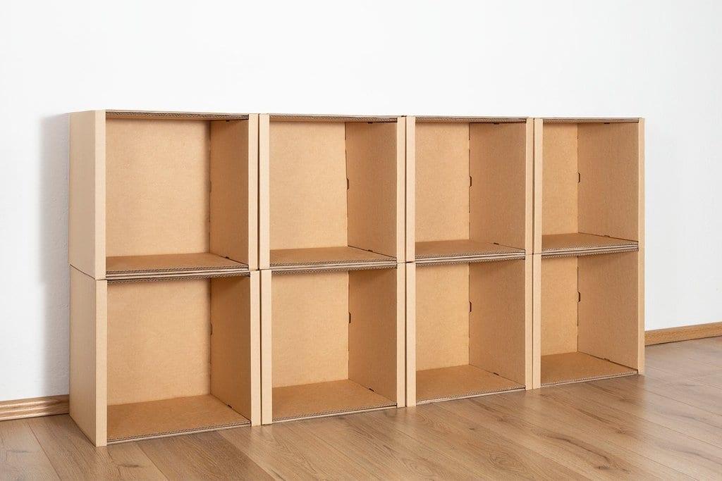 Regal 2x4 - keine / keine von Room in a Box