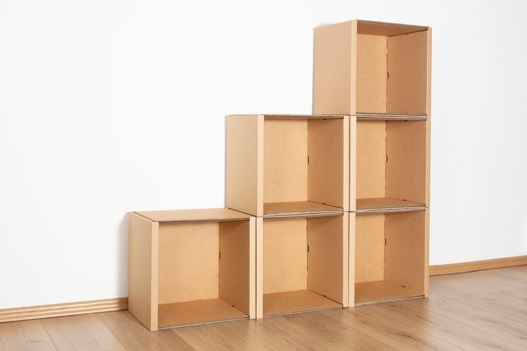 Stufenregal klein - keine / keine von Room in a Box