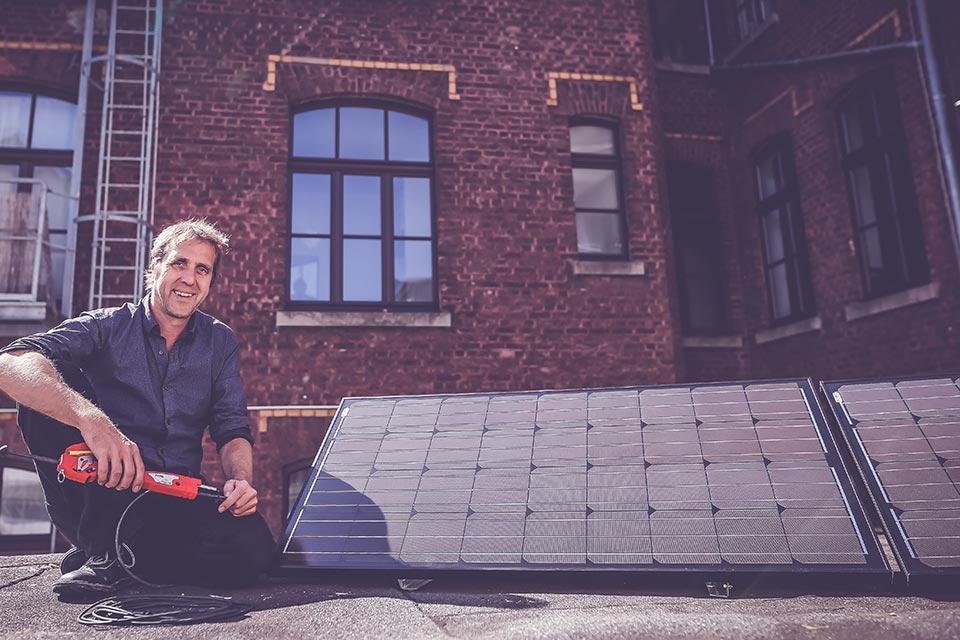 Solarheld bei Faunt