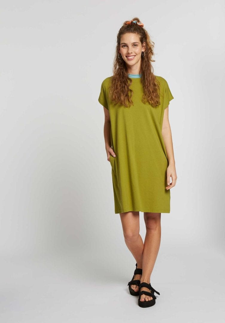 Damen Boxy Shirt Dress  von ThokkThokk