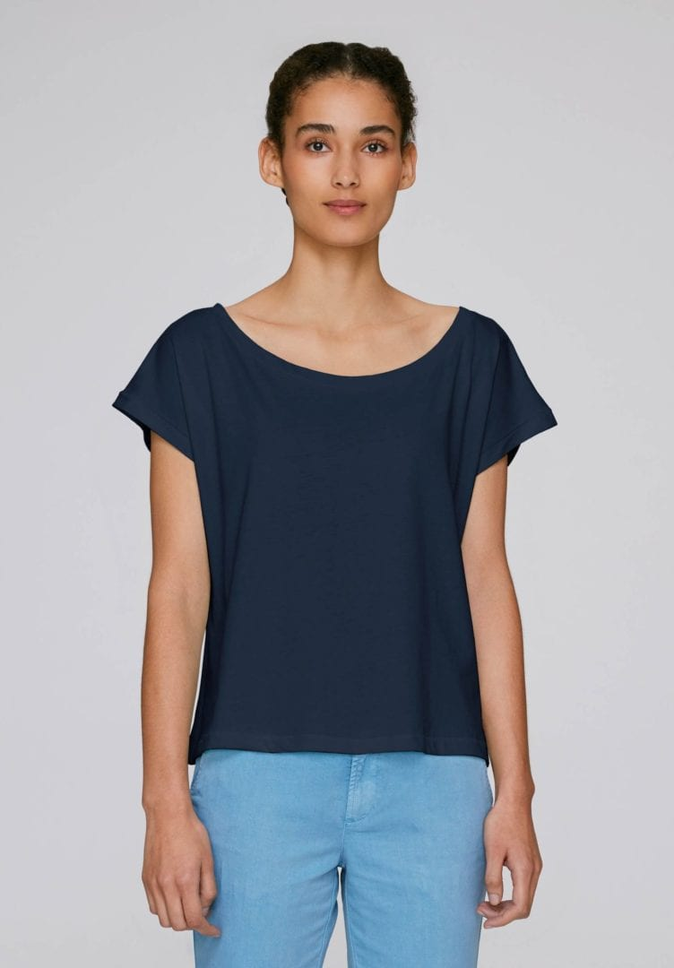 Damen Oversized Cropped T-Shirt  von ThokkThokk