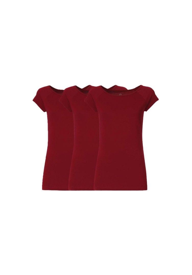 Damen T-Shirt 3er Pack  von ThokkThokk