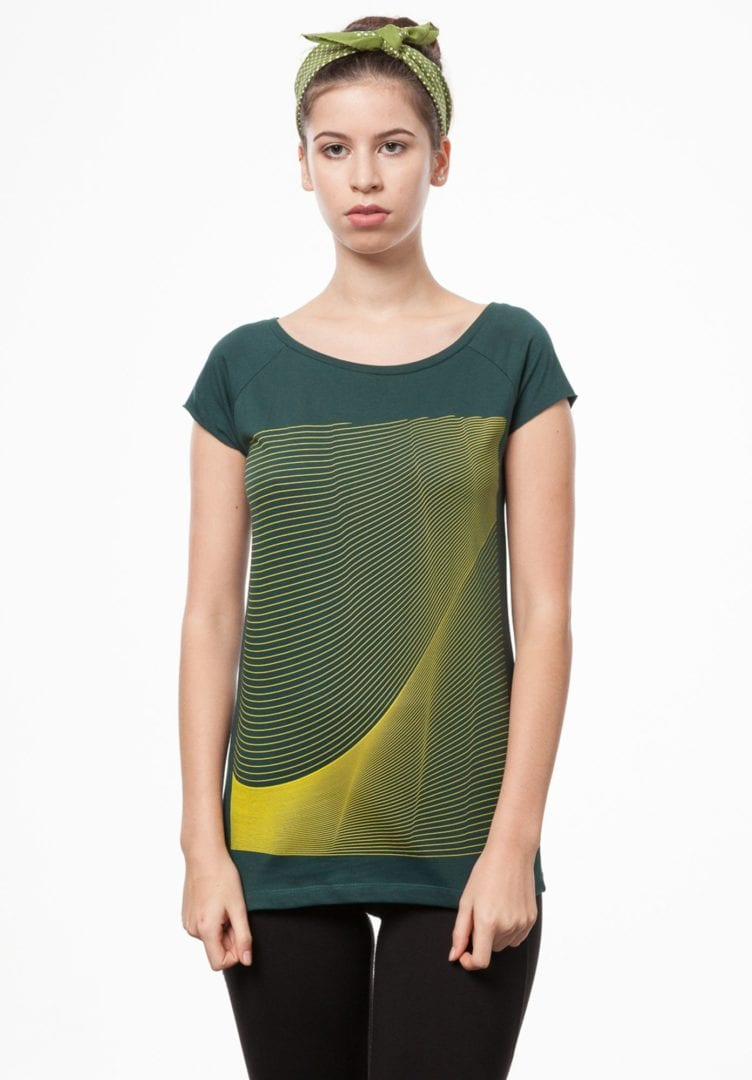 Damen T-Shirt Air Petrol  von ThokkThokk