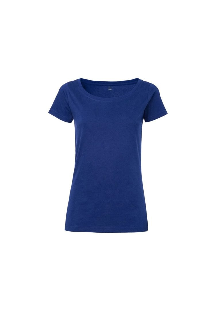 Damen T-Shirt Blau  von ThokkThokk