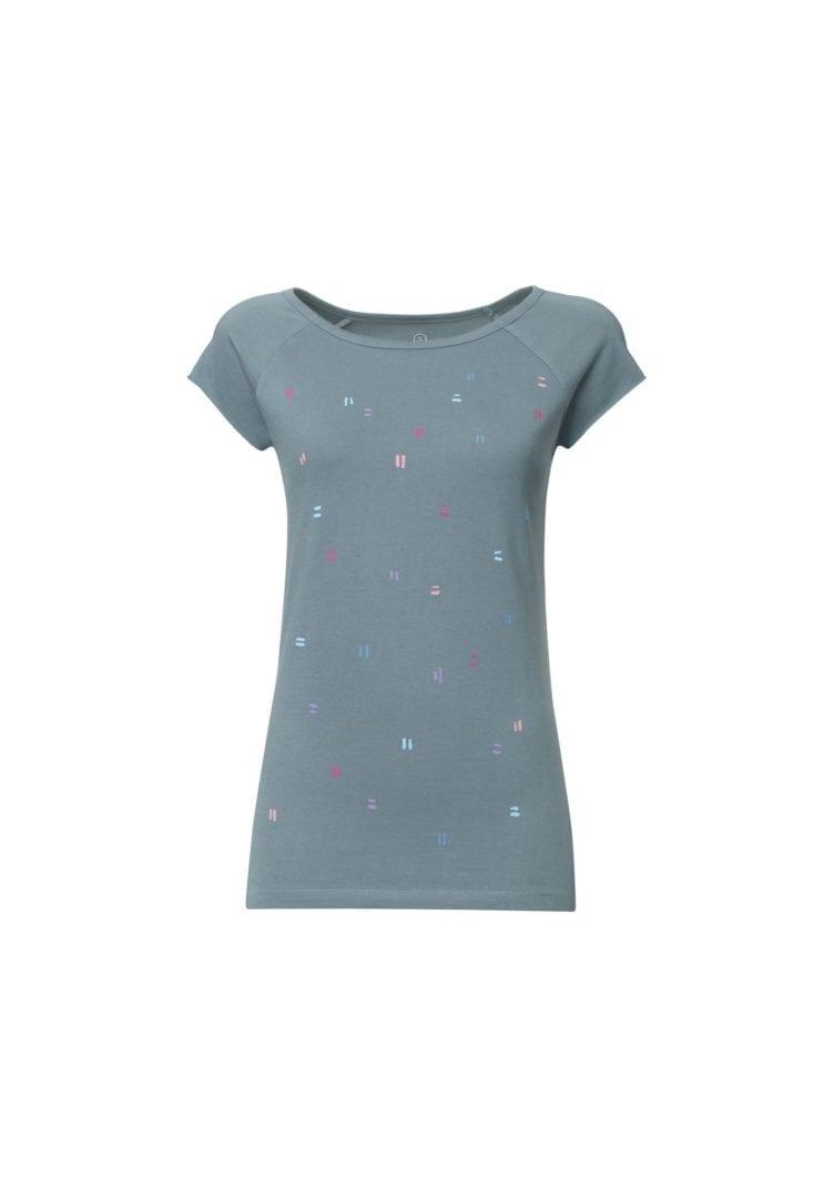 Damen T-Shirt Dips Hellblau  von ThokkThokk