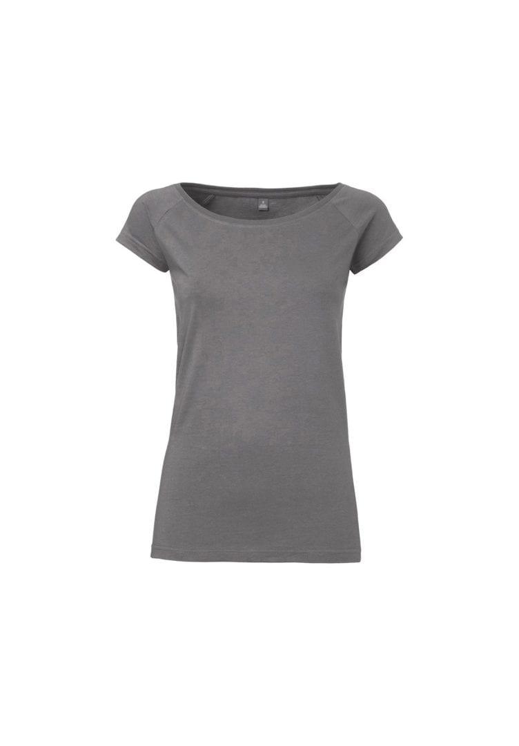 Damen T-Shirt Dunkelgrau  von ThokkThokk