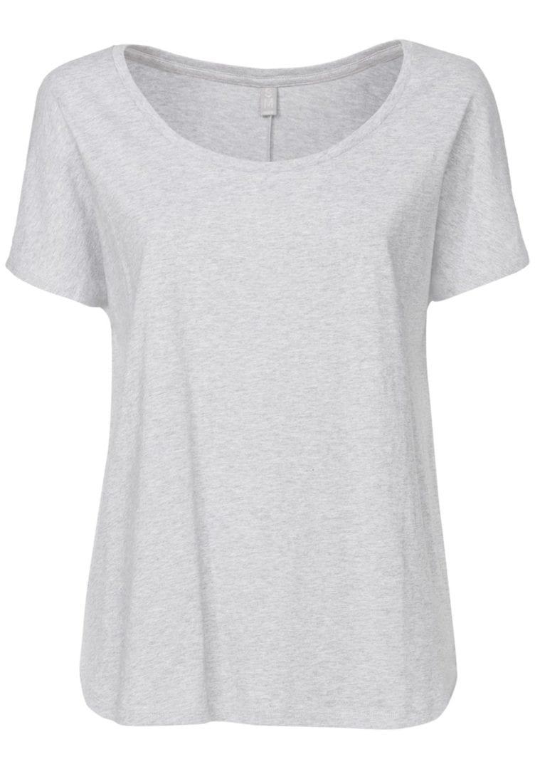 Damen T-Shirt Hellgrau  von ThokkThokk