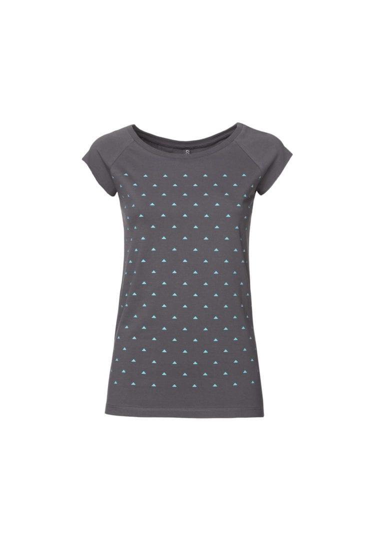 Damen T-Shirt Pythagoras Dunkelgrau  von ThokkThokk
