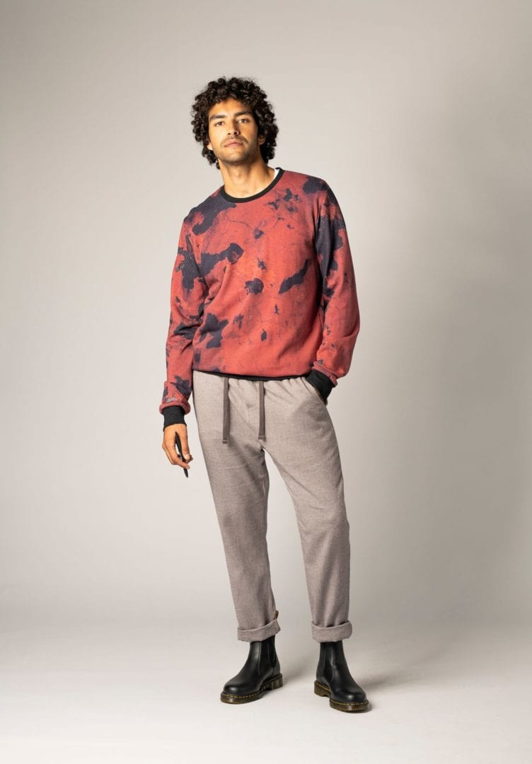 Herren Sweater Rusty Rot  von ThokkThokk