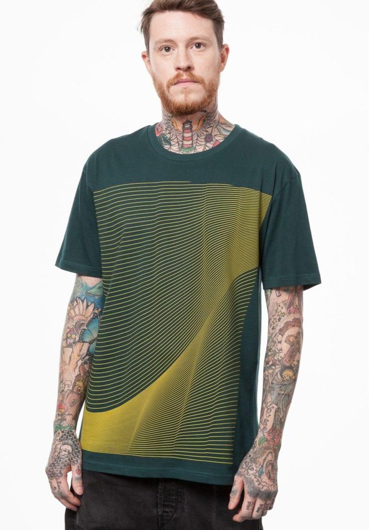 Herren T-Shirt Air T-Shirt Petrol  von ThokkThokk