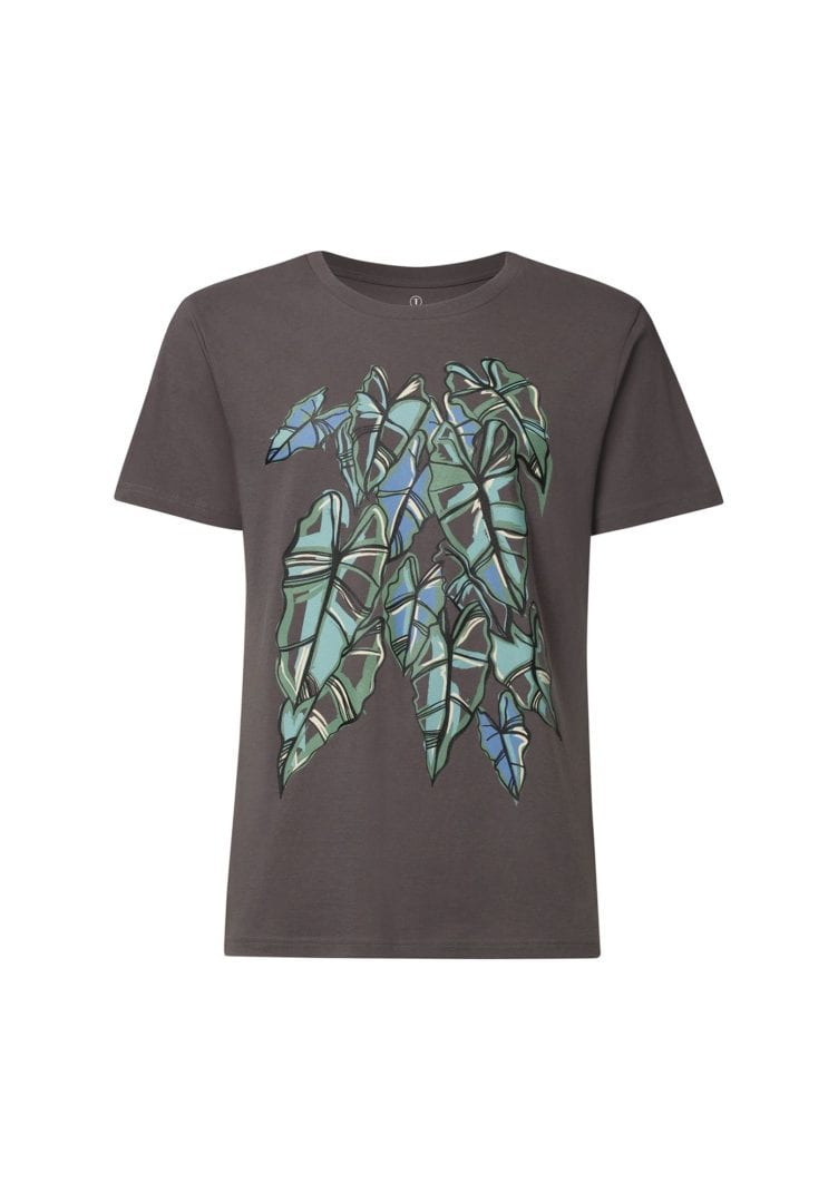 Herren T-Shirt Alocasia Dunkelgrau  von ThokkThokk