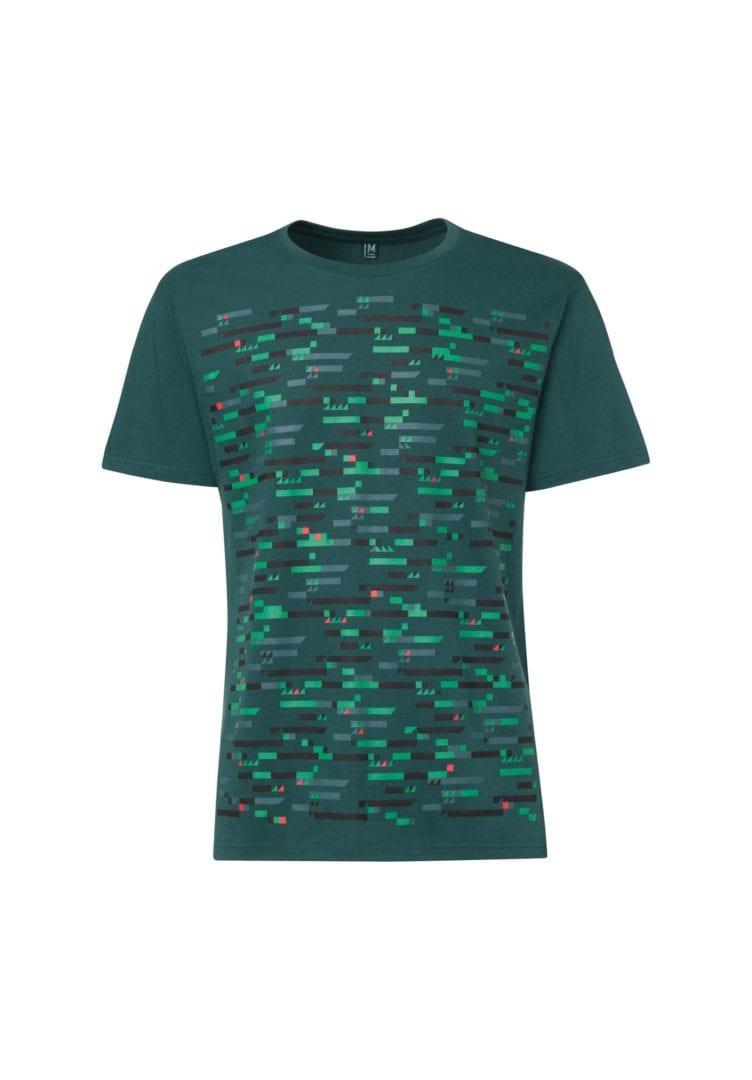 Herren T-Shirt Codec Petrol  von ThokkThokk