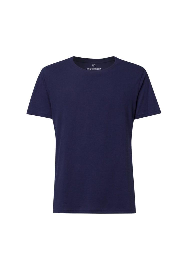 Herren T-Shirt Dunkelblau  von ThokkThokk