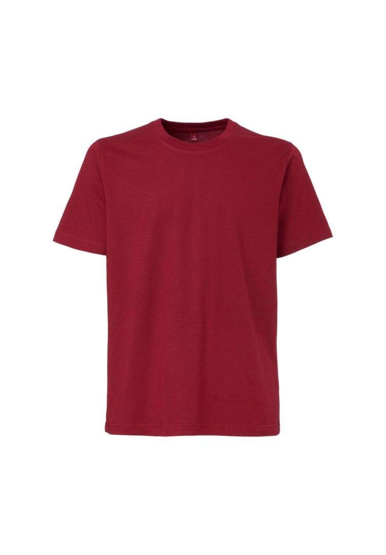 Herren T-Shirt Dunkelrot  von ThokkThokk