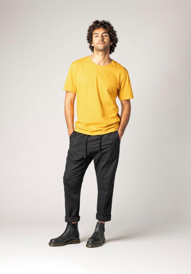 Herren T-Shirt Gelb  von ThokkThokk
