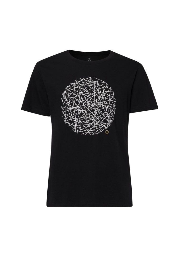 Herren T-Shirt Neon Schwarz  von ThokkThokk