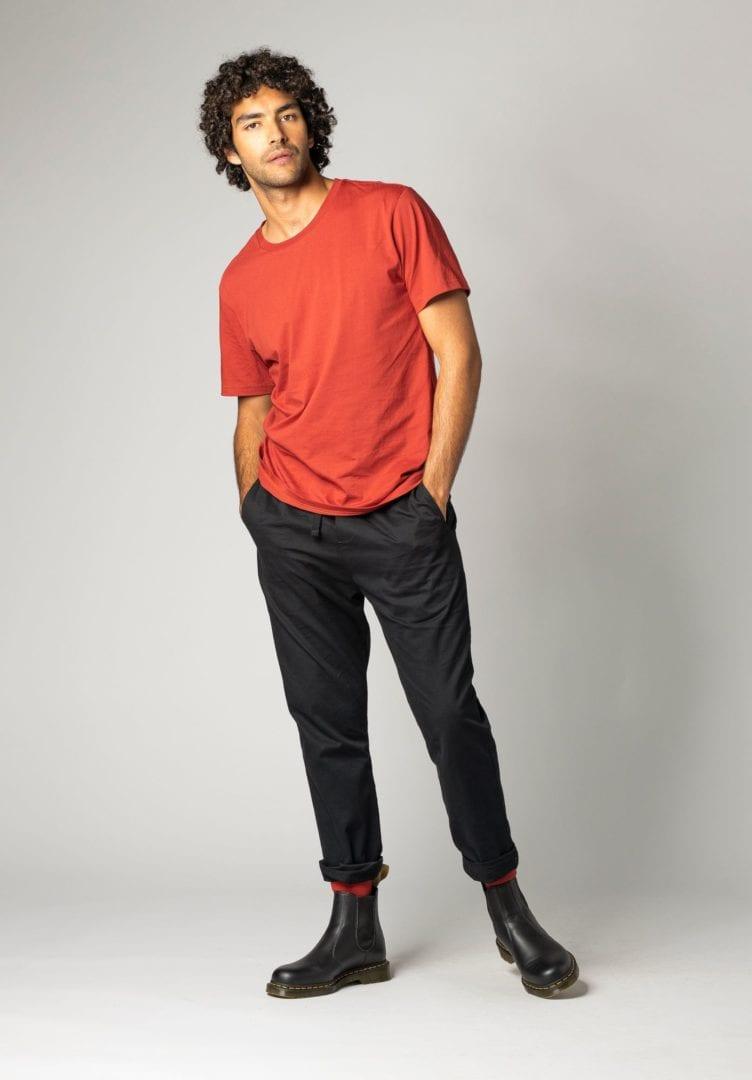 Herren T-Shirt Rot  von ThokkThokk